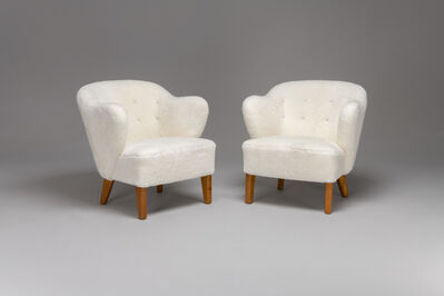 Flemming Lassen, 'Pair of Armchairs', ca. 1940