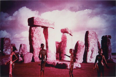 Laurie Simmons, 'Tourism Pink Stonehenge', 1984
