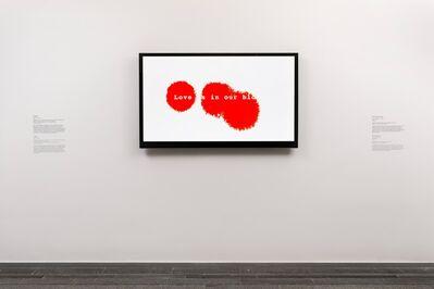 Ai Weiwei, 'Love is in my blood', 2013