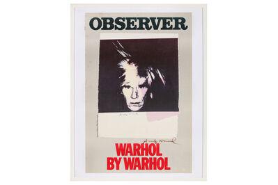 Andy Warhol, 'Observer - Warhol By Warhol'