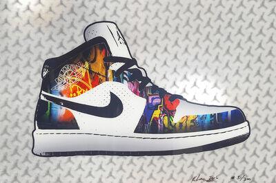 Keng Lau, 'Air Jordan 1', 2016