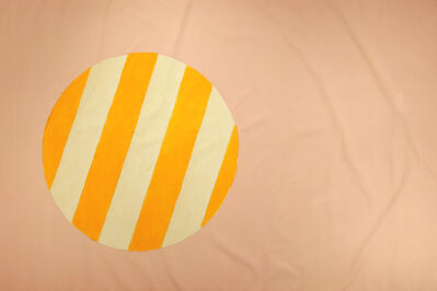 Edward Avedisian, 'Untitled 026 (Peach & Yellow Beach Ball)', ca. 1965