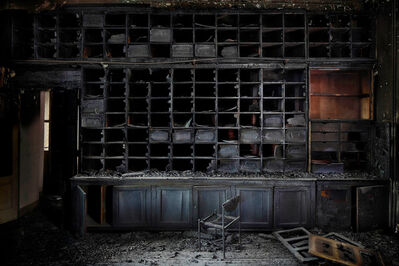 Henk Van Rensbergen, 'The Burnt Library', 2011
