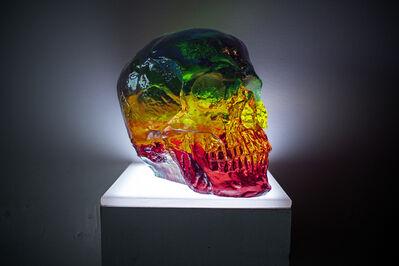 Sam Tufnell, 'Rainbow Skull', 2018