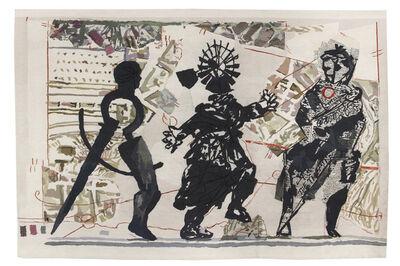 William Kentridge, '3 Figures', 2010