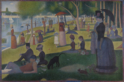 Georges Seurat, 'A Sunday on La Grande Jatte', 1884-1886