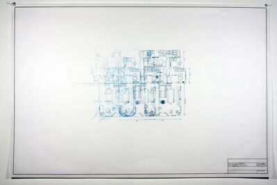 Maggie Gourlay, 'Architectural Plan IIB', 2012