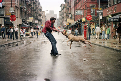 Jamel Shabazz, 'Man and Dog, Lower East Side, Manhattan NYC ', 1980
