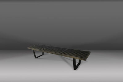 George Nelson, 'beautiful 50's bench in maple wood by George Nelson', ca. 1950