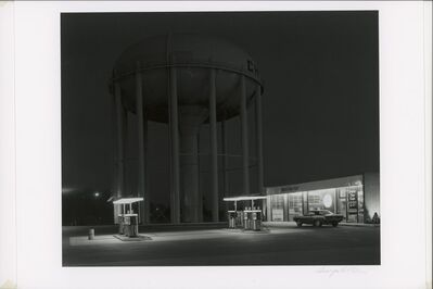 George Tice, 'Petit's Mobil Station, Cherry Hill, NJ', 1974