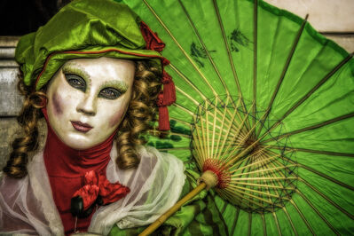 Frank Colletto, 'Green Umbrella', 2015