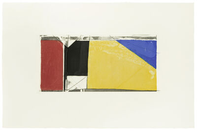 Richard Diebenkorn, 'Folsom Street Variation III', 1986