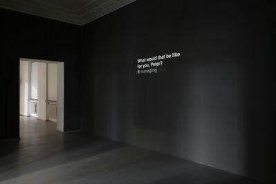 Ignas Krunglevičius, 'Narrative with an unexpected outcome', 2011