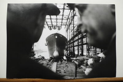 Thomas Hoepker, 'Stapellauf, Hamburg', ca. 1970s