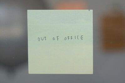 Chosil Kil, 'Out of Office', 2014