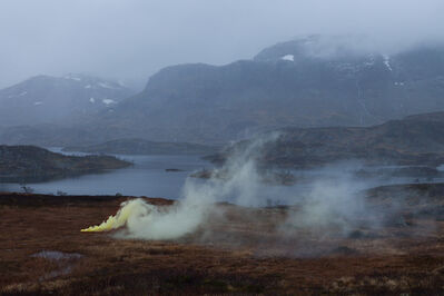 Isabelle & Alexis, 'Telemark - Norwegian soil breathing yellow pigments', 2014