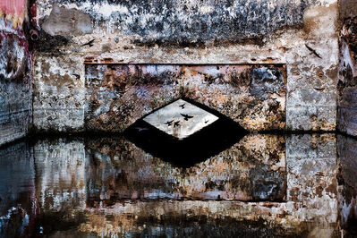Steve McCurry, ' Stepwell and Birds, India', 2012