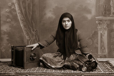 Shadi Ghadirian, 'Qajar #19', 1998