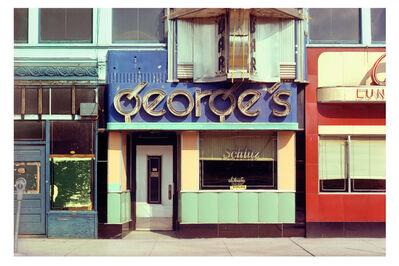 John Baeder, 'George's ', 1976