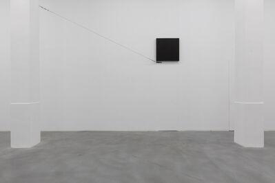 Noriyuki Haraguchi 原口 典之, 'Black Square and Iron Rope', 2019