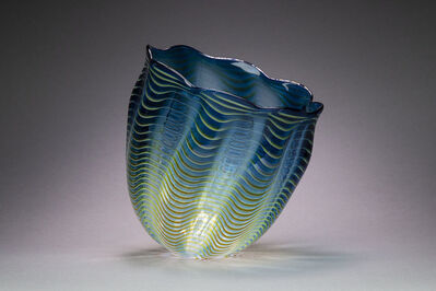 Dale Chihuly, 'Teal Blue Seaform Persian Basket', 1997