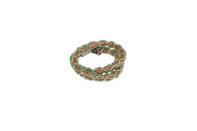 Steven and William Ladd, 'Netting Bracelet', 2001