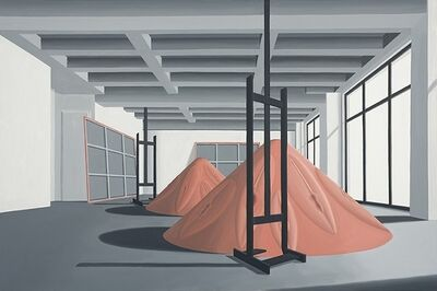 Thomas Huber (b.1955), 'Atelier positiv', 2015