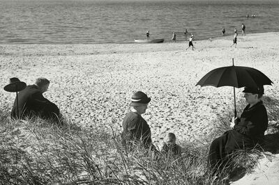 Herbert List, 'Picnic by the Baltic. Germany.', 1930