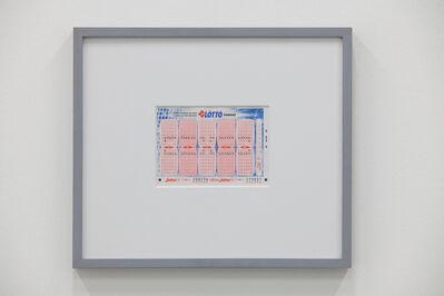 Claude Closky, 'Swiss Lotto Card 208236', 2005