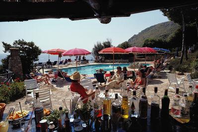 Slim Aarons, 'Poolside Bar', 1980
