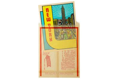 JOE TILSON, R.A., 'New York Decals 3 & 4'