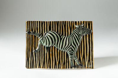 Kensuke Fujiyoshi, '30. Zebra bucking relief', 2019