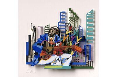 David Gerstein, 'Guitar Player - Paper Cut', 2007