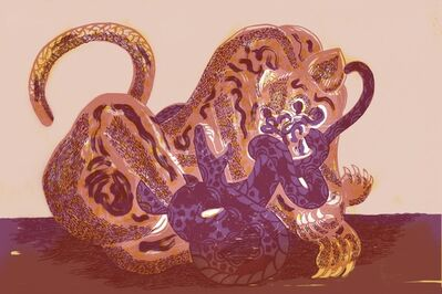 Alfonso Barrera, 'Jaguar & Serpiente', 2020