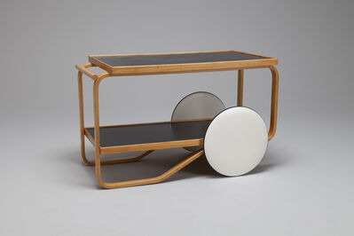 Alvar Aalto, 'Tea Trolley, Model no. 901', 1960