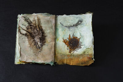 Tina Salvesen, 'On the Wing pages 34 and 35', 2019