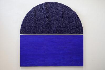 Sunoj D., 'Half of a circle or Half covered full circle', 2018