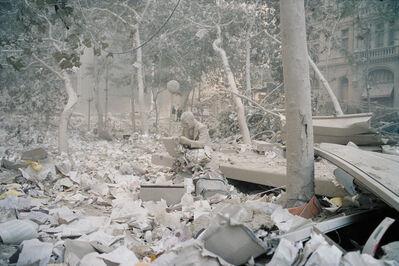 Jeff Mermelstein, 'Statue (Double Check by Seward Johnson), September 11, 2001', 2001