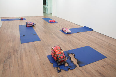 Timur Si-Qin, 'Love and Resources, Installation view at Favorite Goods, Los Angeles'