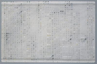 Enrique Brinkmann, 'Segmentos oleo grafito', 2004