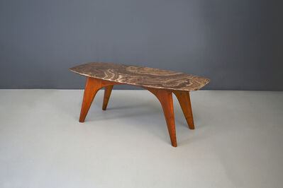 Paolo Buffa, 'Rare table by Paolo Buffa in lunar marble, in perfect condition.', ca. 1950