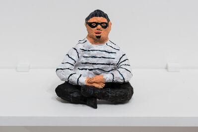 Ralph Pugay, 'Cat Burglar Meditating', 2017