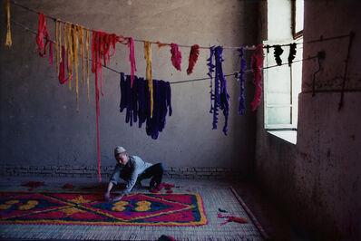 Cary Wolinsky, 'Felt Carpet Maker, Kashgar, Xinjian, China'