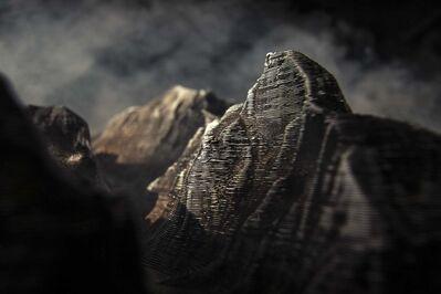 Edward Bateman, 'Half Dome No. 2 (with 3D printed landscape)', 2020