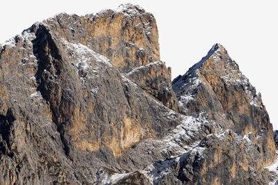 Renate Aller, 'PLATE 52 #18 s | Italy, Dolomites, Nov 2016', 2016