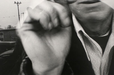 Mark Cohen, 'Man at Car Window', 1974