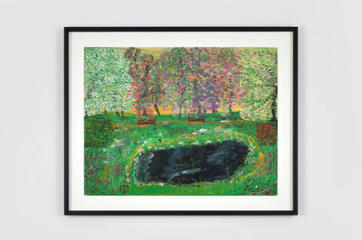 Ceija STOJKA, 'L'Etang Noir ', 1995