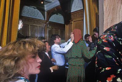 Harry Benson, 'Yves St. Laurent and Lulu de la Falaise, Paris', 1973