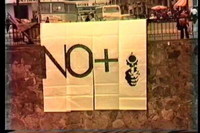 Lotty Rosenfeld, 'No + ', 1983-1989