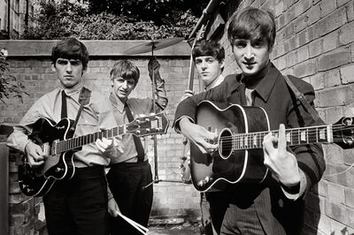 Terry O'Neill, 'The Beatles, London', 1963